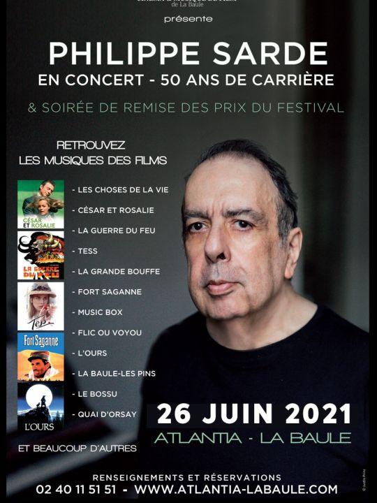 Concert Hommage à Philippe Sarde & Cérémonie de remise des Prix du Festival de La Baule