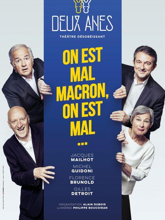 On est mal Macron, on est mal...